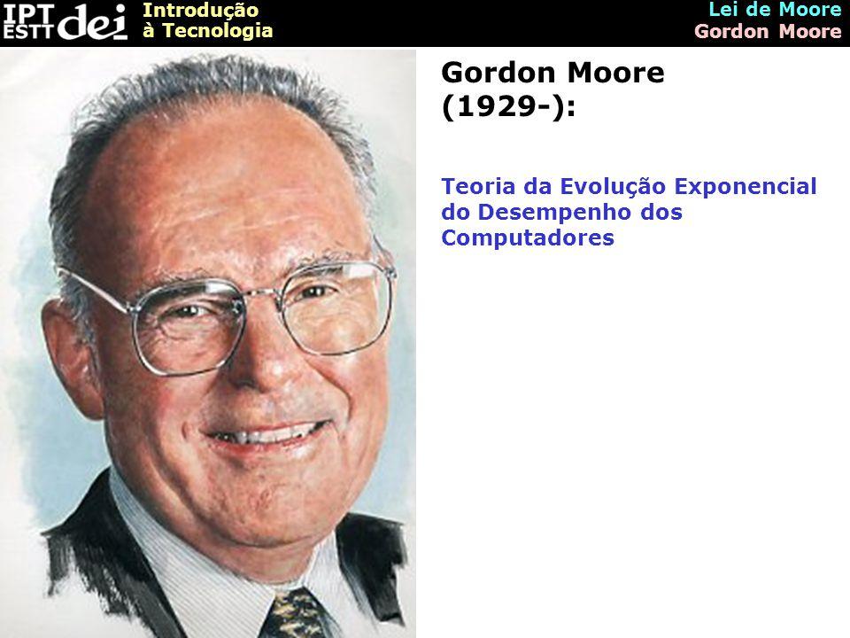 Lei de Moore Gordon Moore.