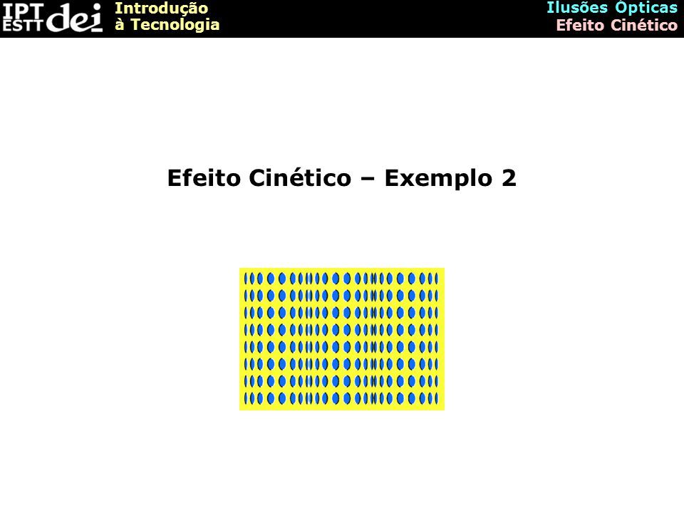 Efeito Cinético – Exemplo 2