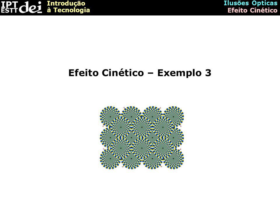 Efeito Cinético – Exemplo 3