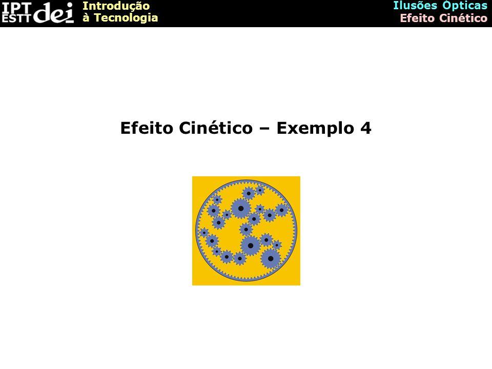 Efeito Cinético – Exemplo 4