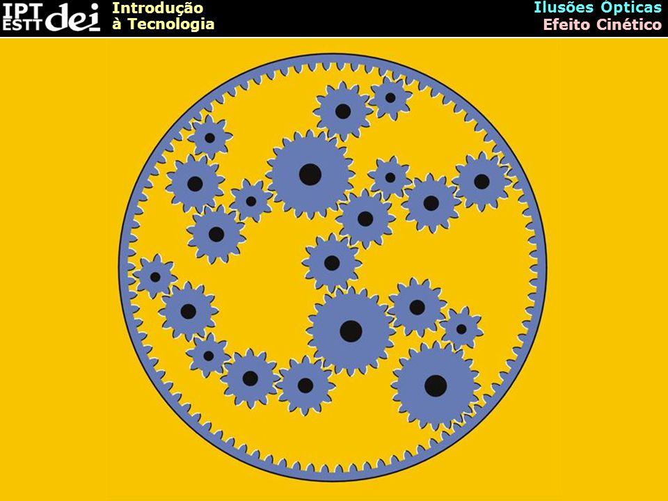 Ilusões Ópticas Efeito Cinético