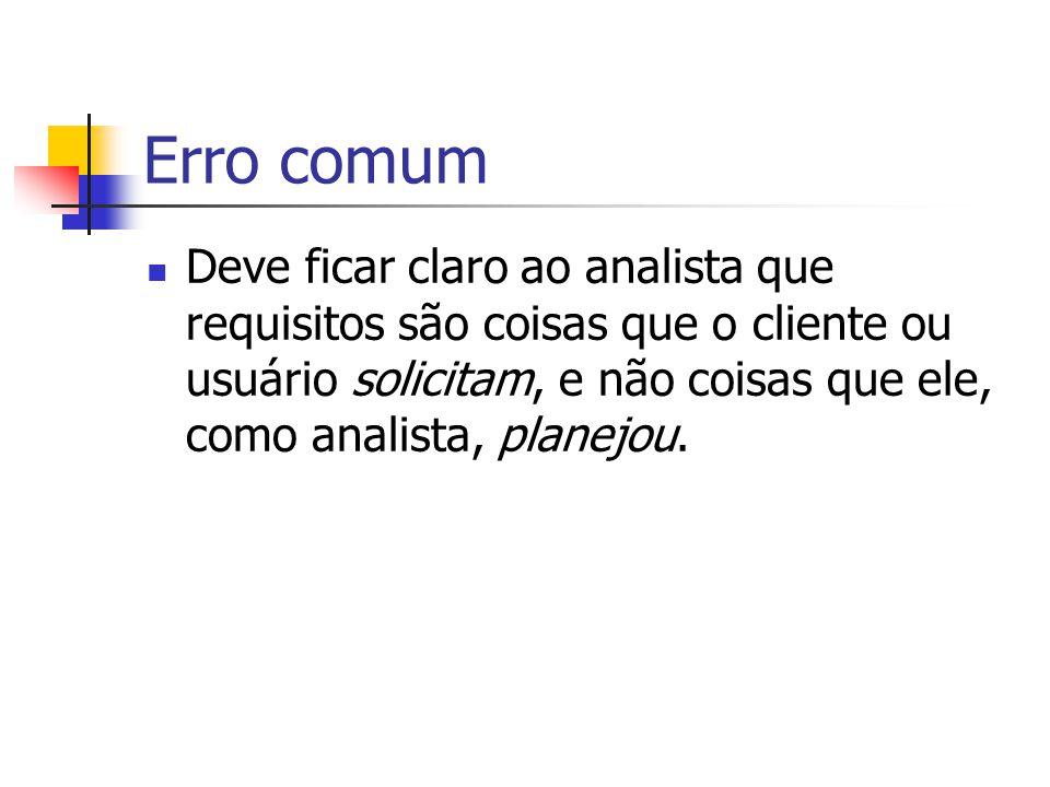 Erro comum