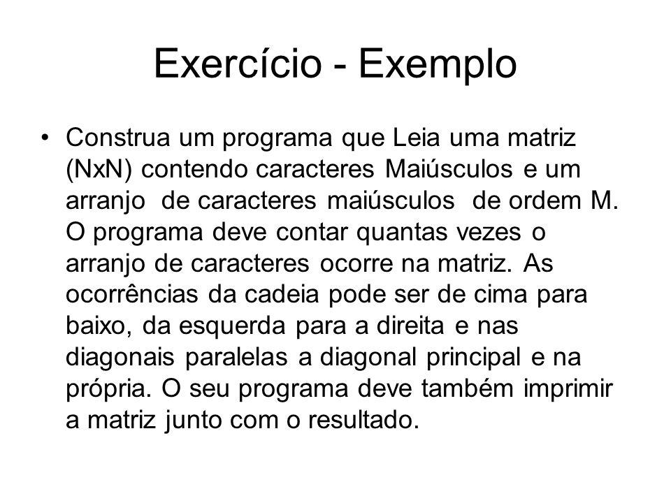 Exercício - Exemplo