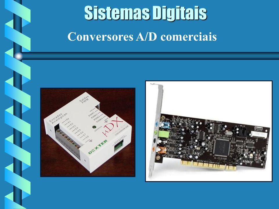 Sistemas Digitais Conversores A/D comerciais