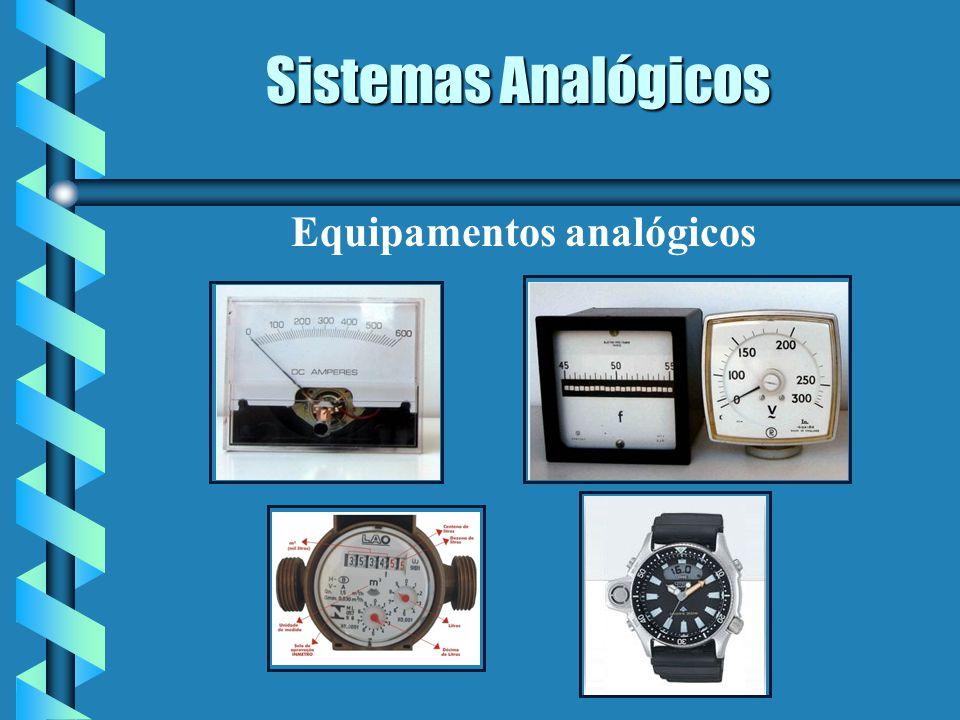Equipamentos analógicos