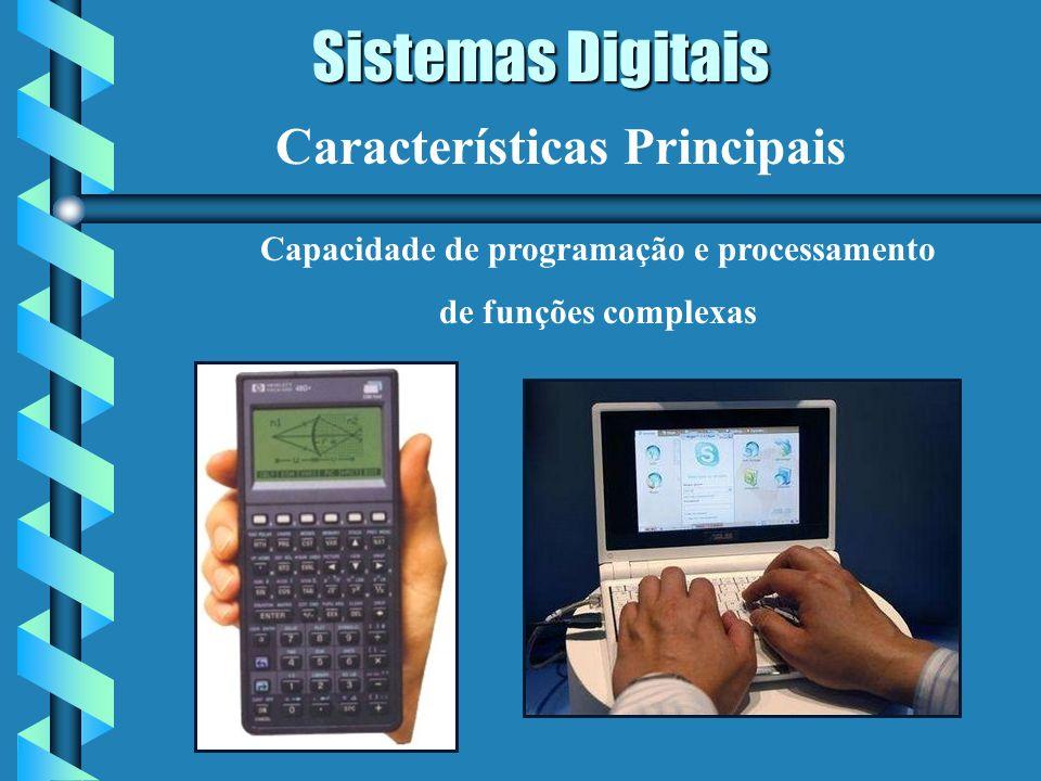 Capacidade de programação e processamento