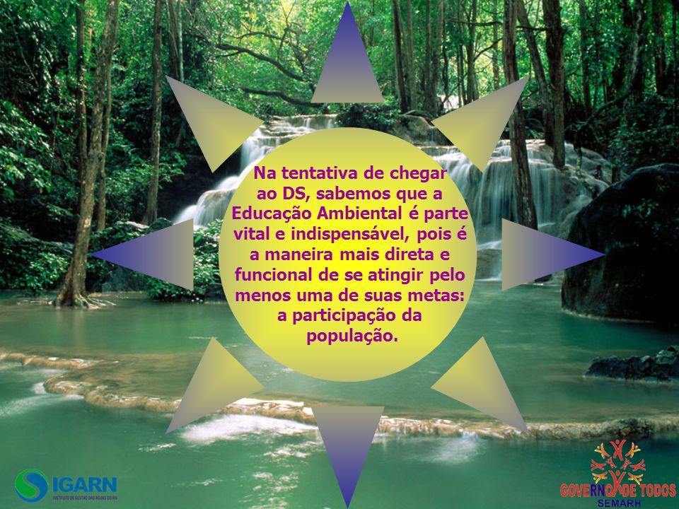 Educação Ambiental é parte vital e indispensável, pois é