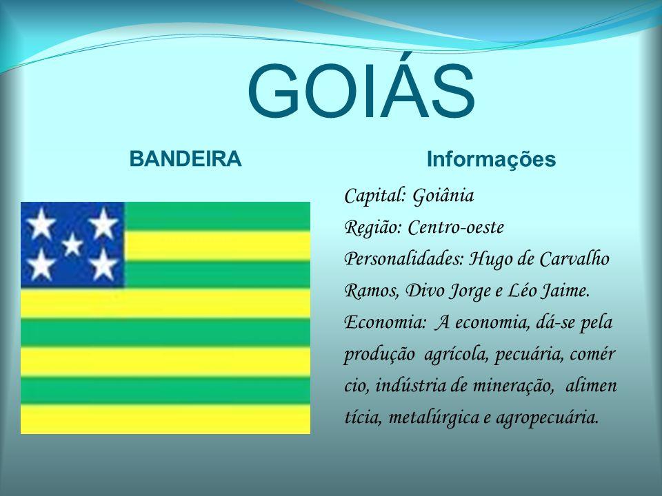 GOIÁS BANDEIRA Informações