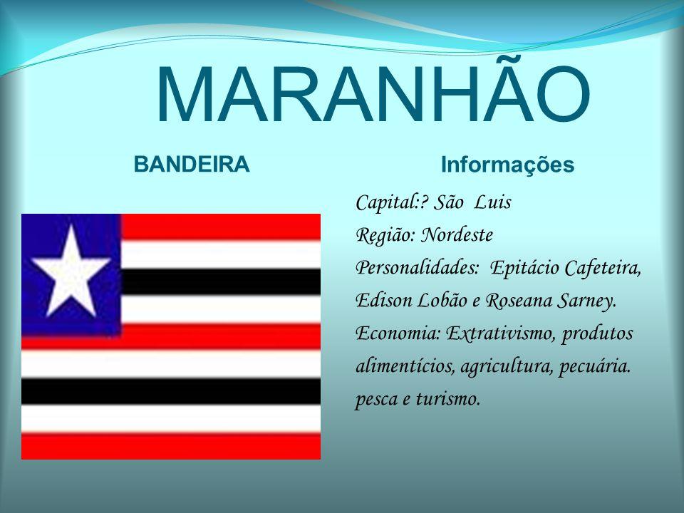 MARANHÃO BANDEIRA Informações