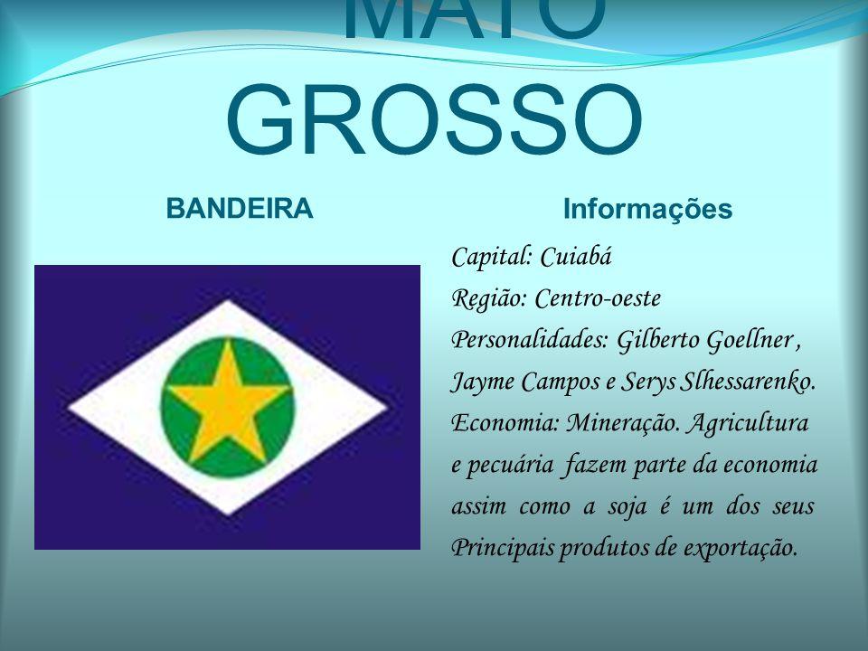 MATO GROSSO BANDEIRA Informações