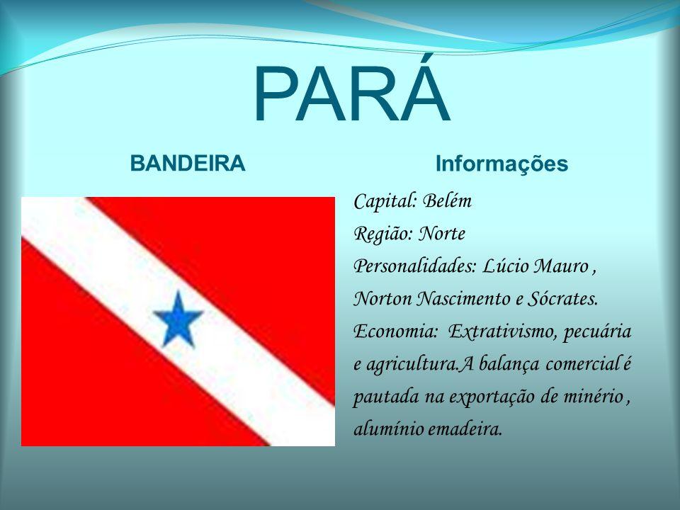 PARÁ BANDEIRA Informações