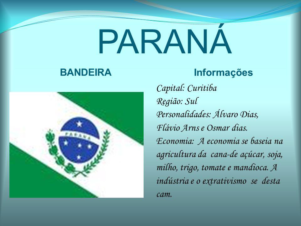 PARANÁ BANDEIRA Informações