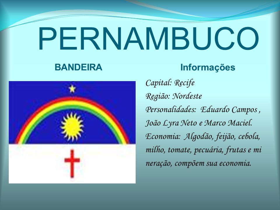 PERNAMBUCO BANDEIRA Informações