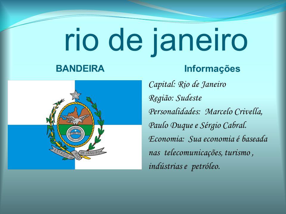 rio de janeiro BANDEIRA Informações