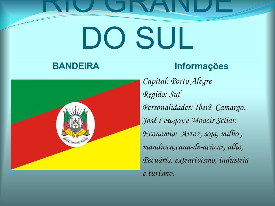 RIO GRANDE DO SUL BANDEIRA Informações