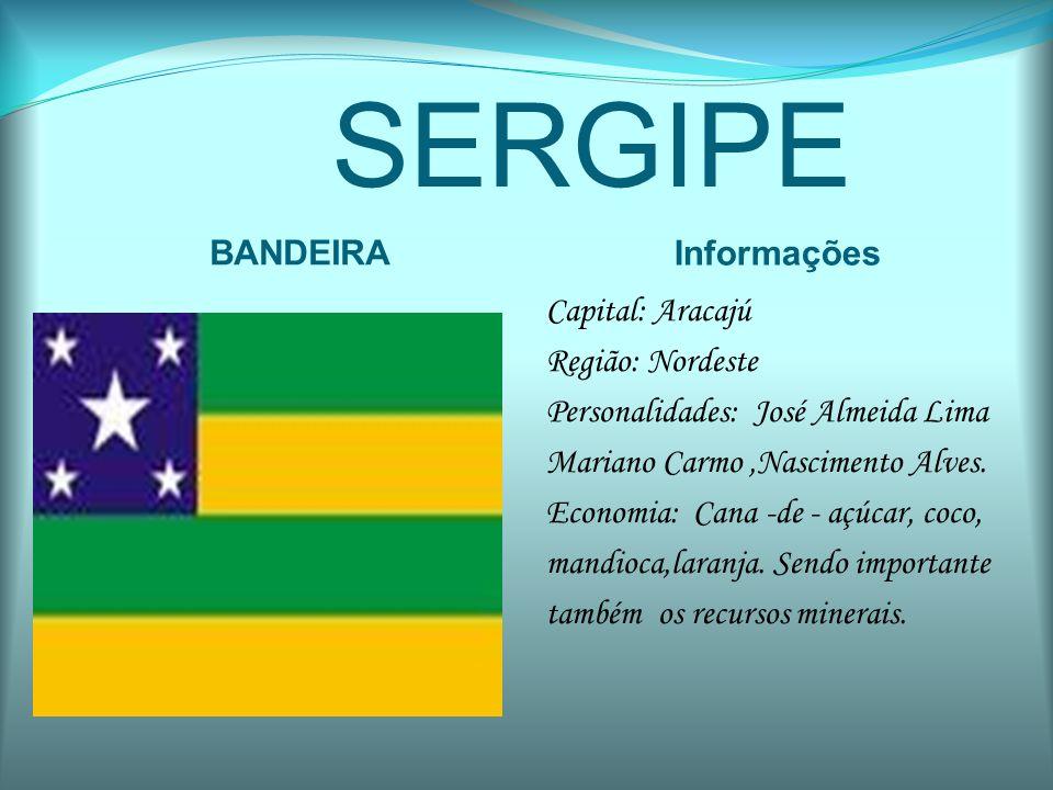 SERGIPE BANDEIRA Informações