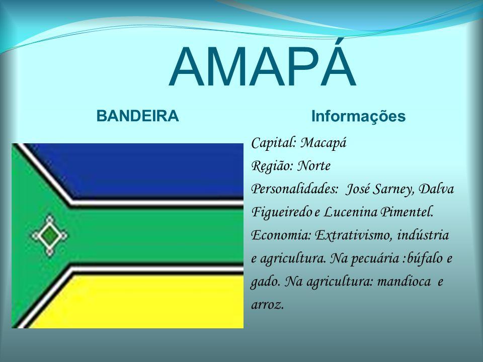 AMAPÁ BANDEIRA Informações