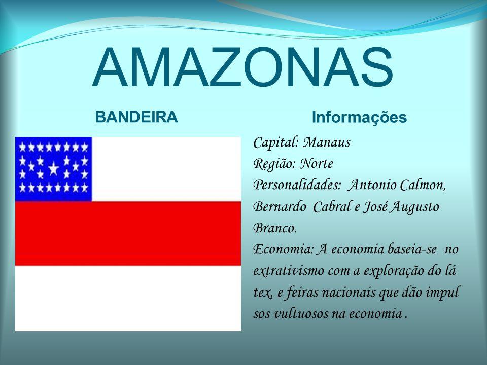 AMAZONAS BANDEIRA Informações