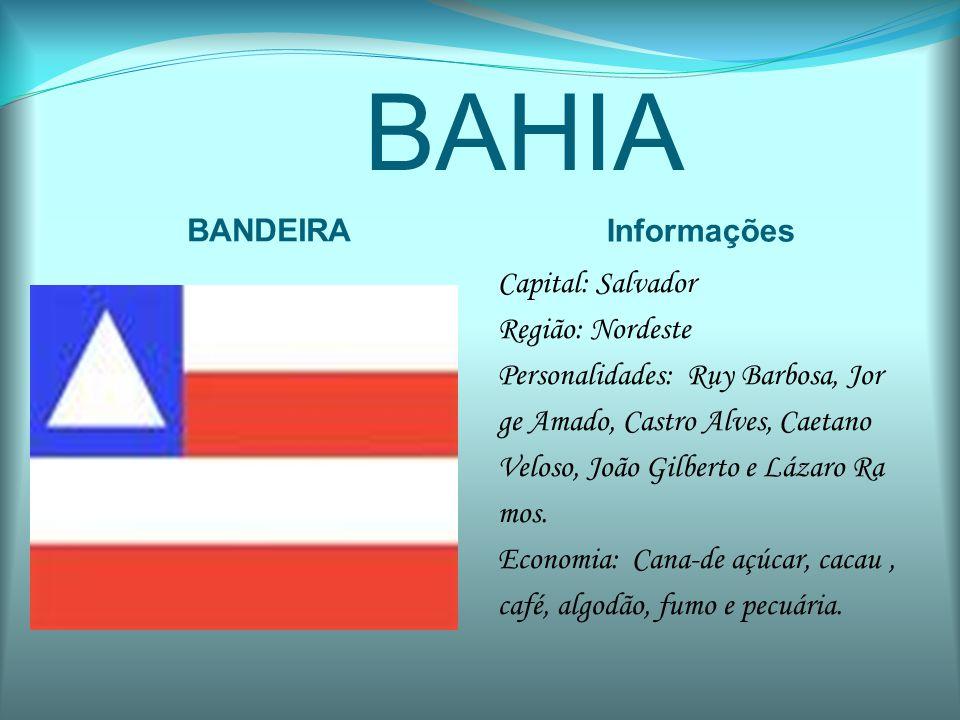 BAHIA BANDEIRA Informações