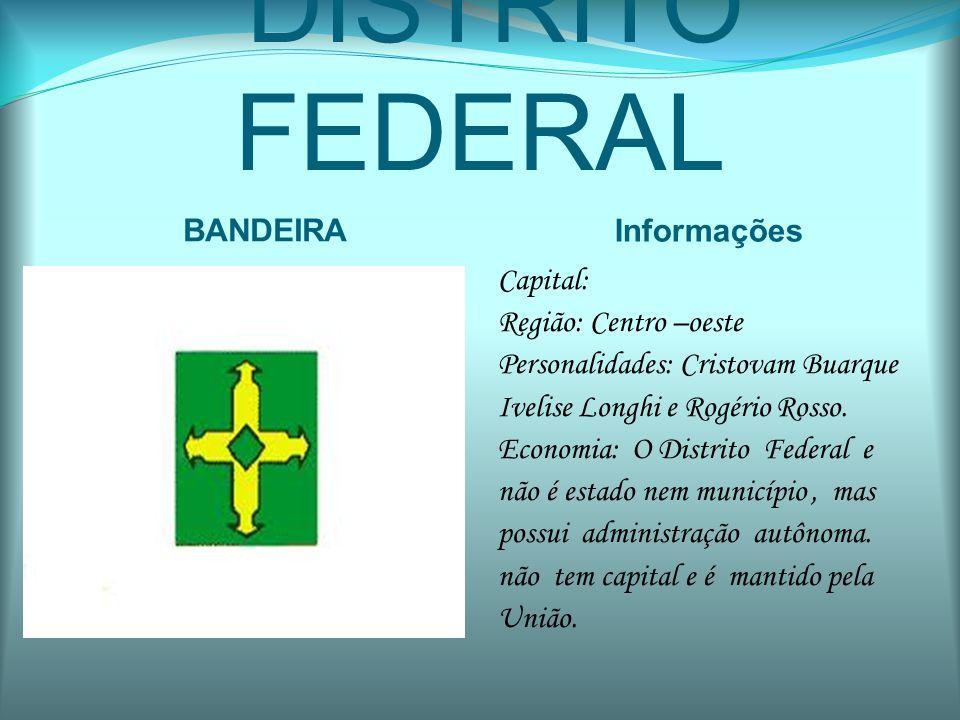 DISTRITO FEDERAL BANDEIRA Informações