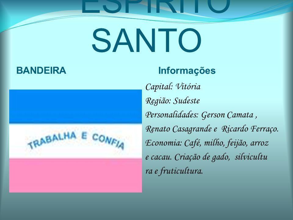 ESPÍRITO SANTO BANDEIRA Informações