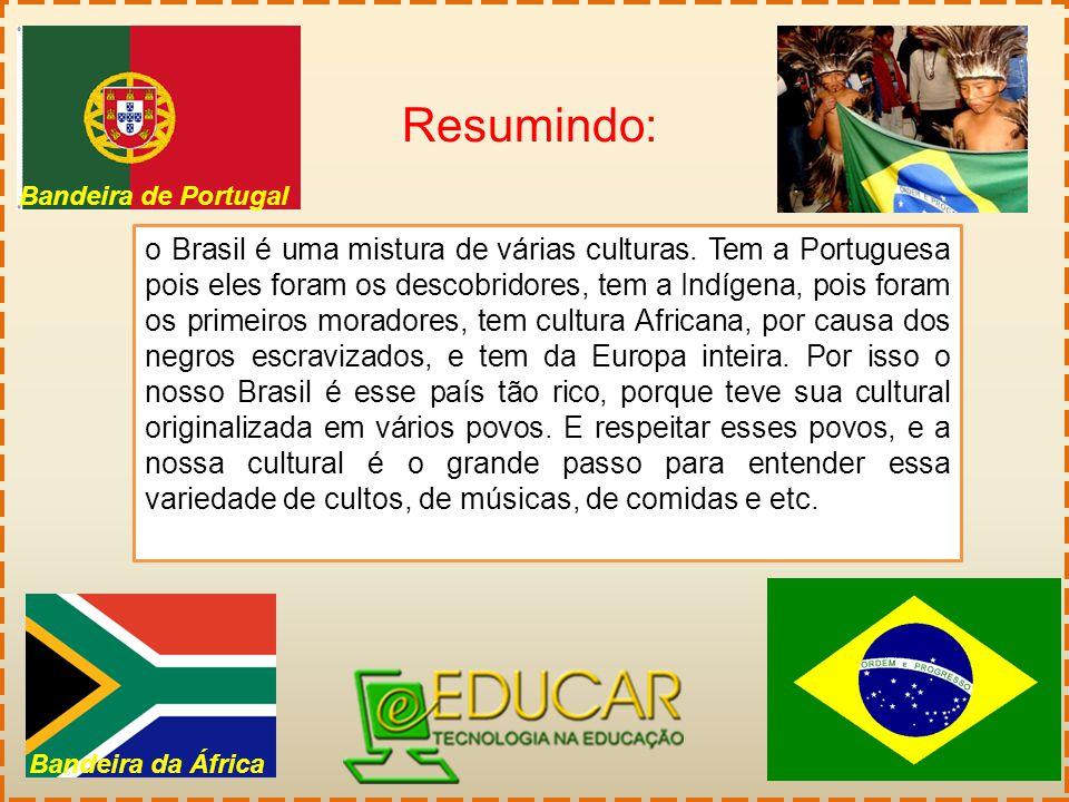 Resumindo: Bandeira de Portugal.
