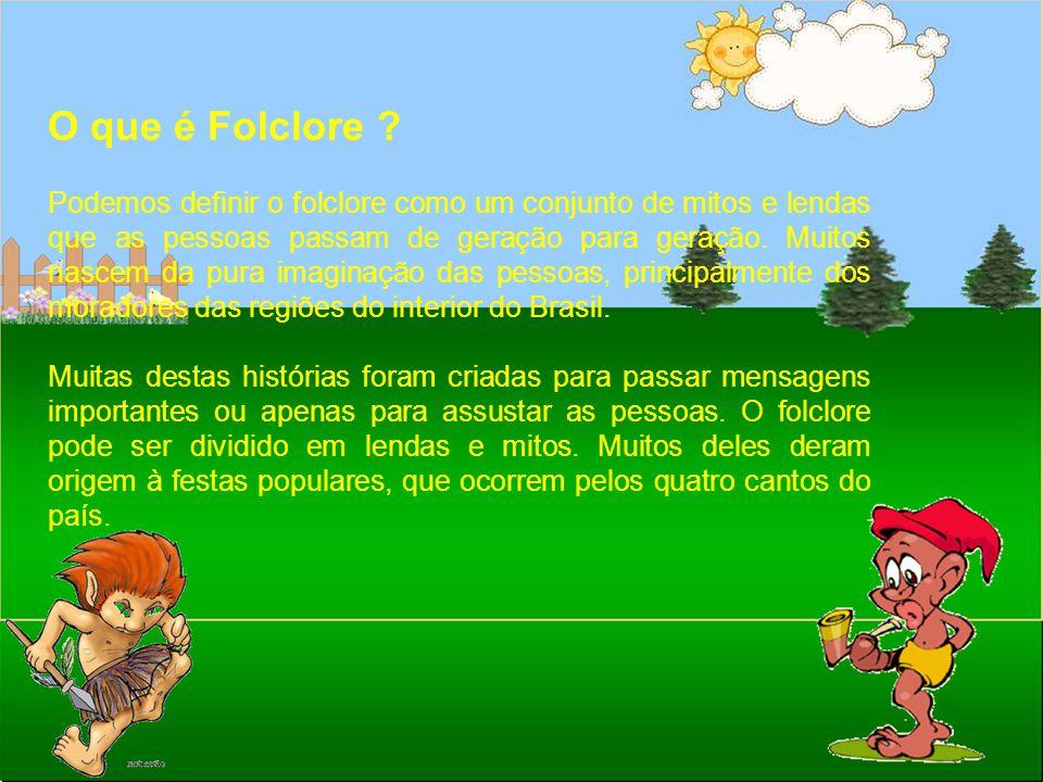 O que é Folclore
