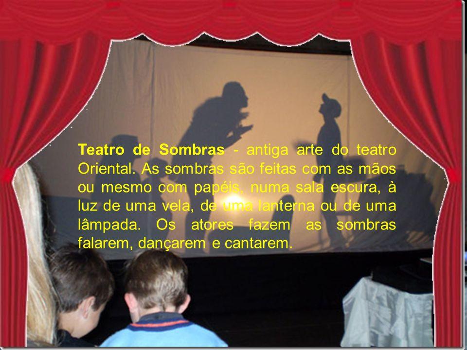 Teatro de Sombras - antiga arte do teatro Oriental