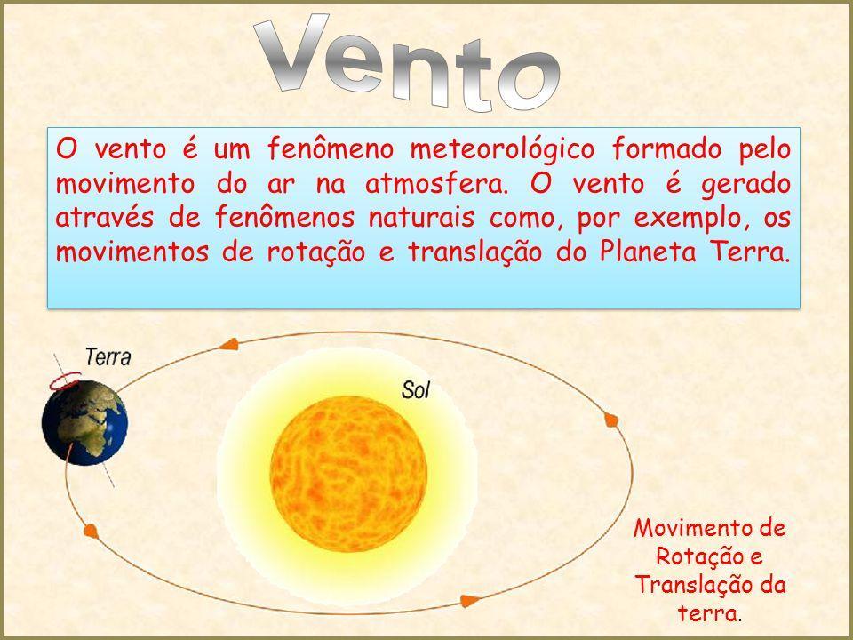 Movimento de Rotação e Translação da terra.