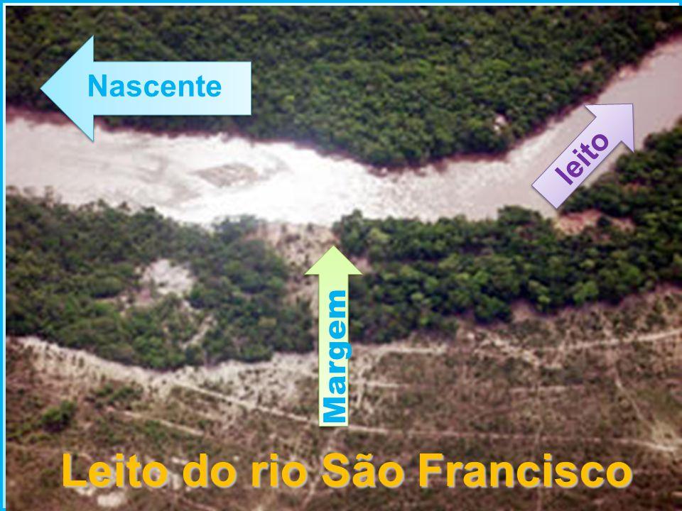 Leito do rio São Francisco