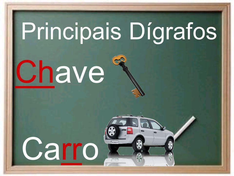 Chave Principais Dígrafos Carro