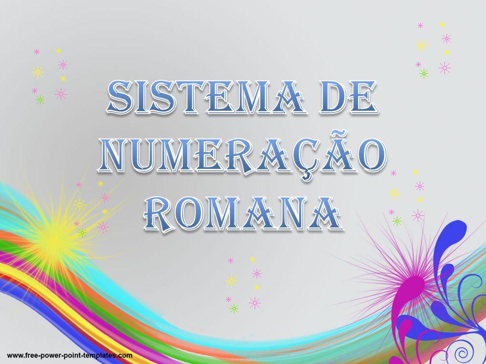 Sistema de numeração romana