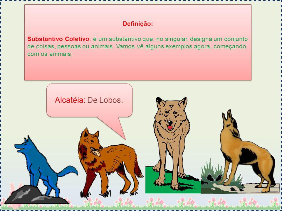 Alcatéia: De Lobos. Definição: