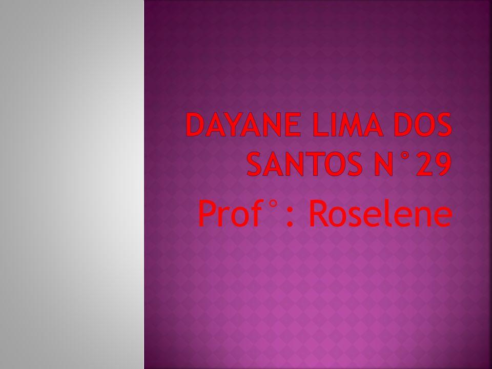 Dayane Lima Dos Santos N°29