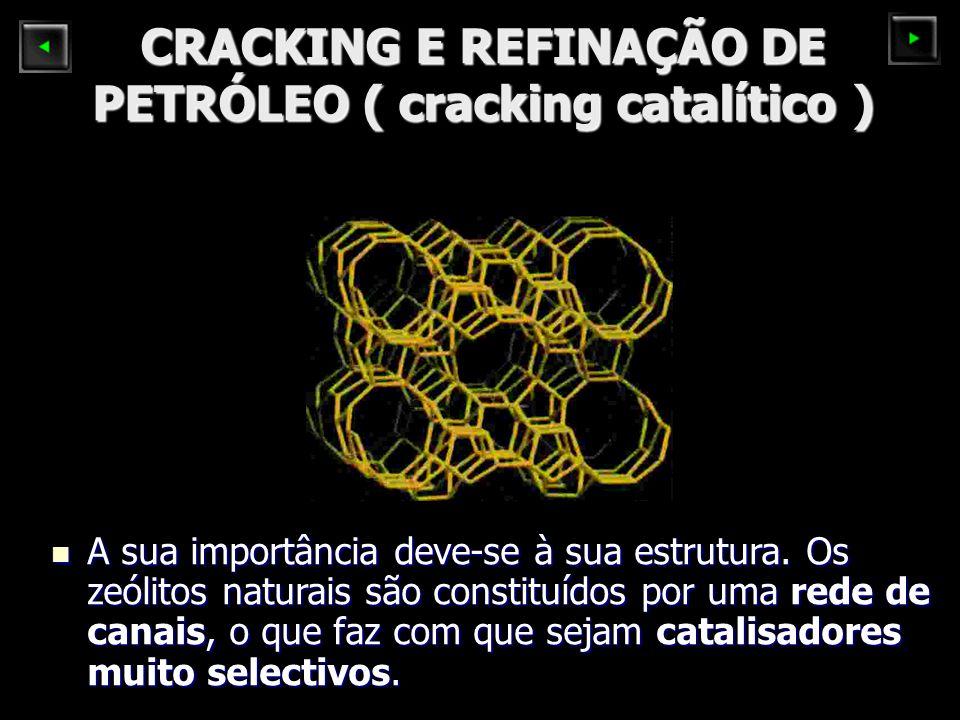 CRACKING E REFINAÇÃO DE PETRÓLEO ( cracking catalítico )