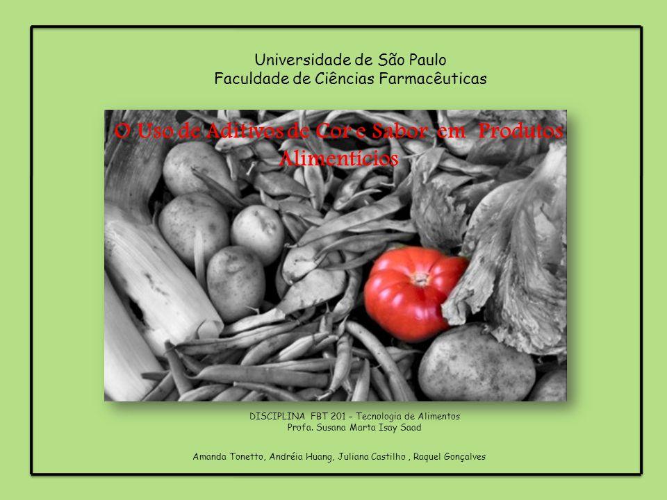 O Uso de Aditivos de Cor e Sabor em Produtos Alimentícios