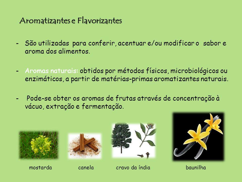 Aromatizantes e Flavorizantes