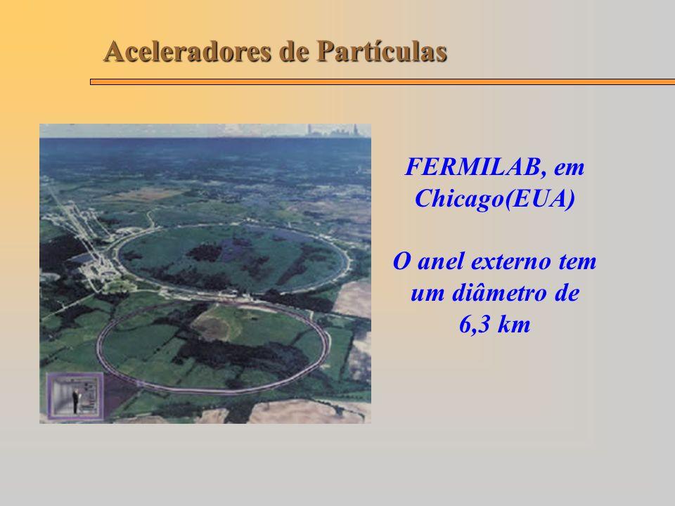 FERMILAB, em Chicago(EUA) O anel externo tem um diâmetro de