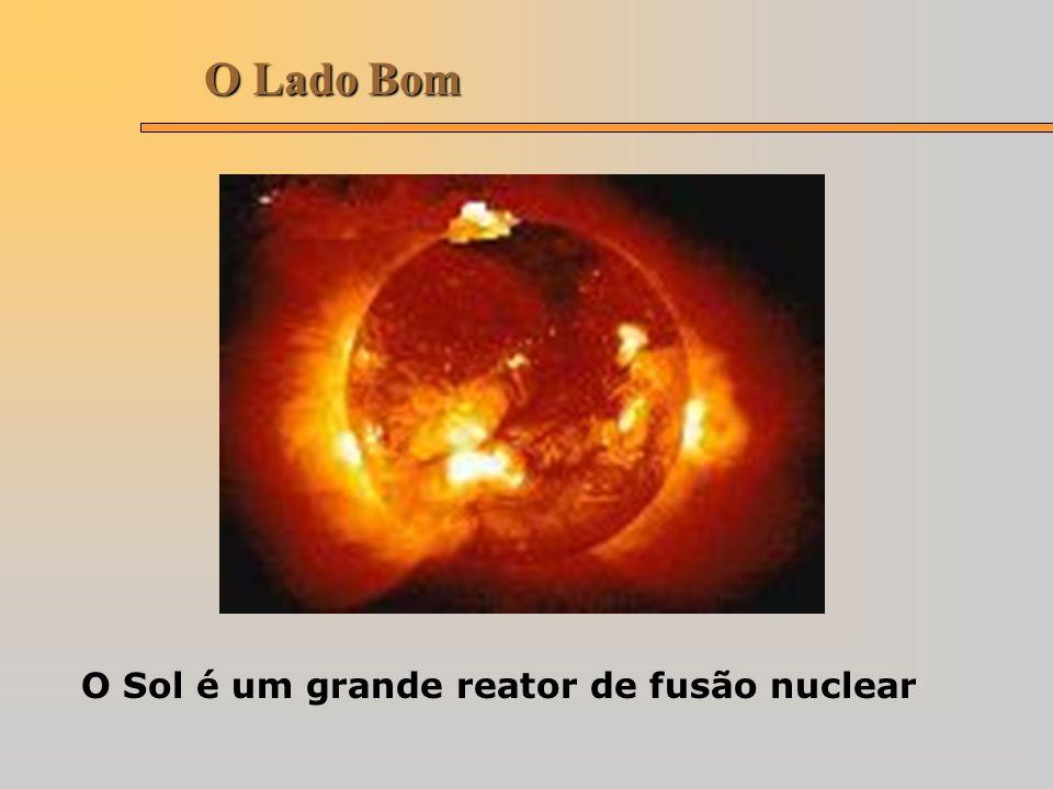 O Lado Bom O Sol é um grande reator de fusão nuclear