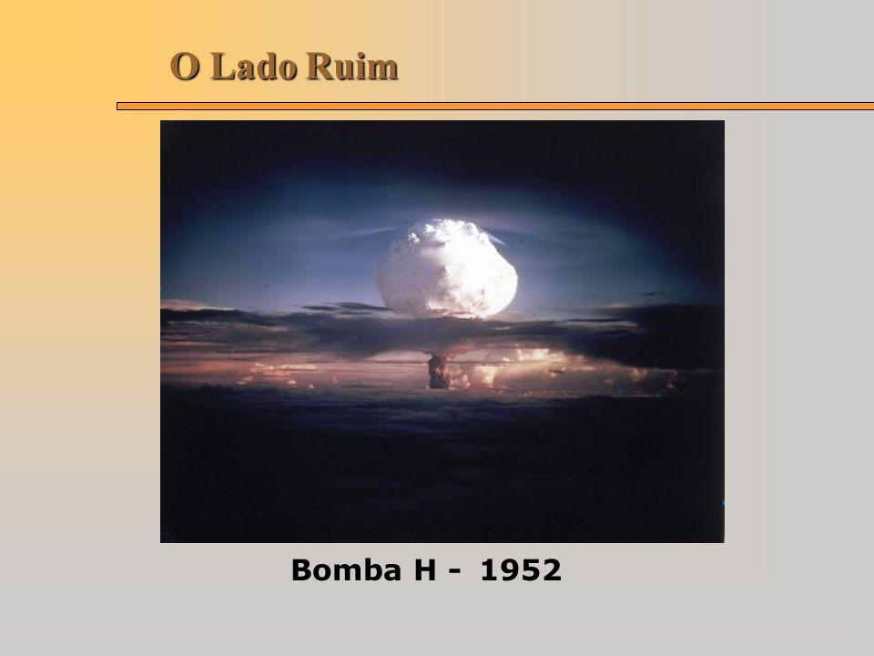 O Lado Ruim Bomba H - 1952