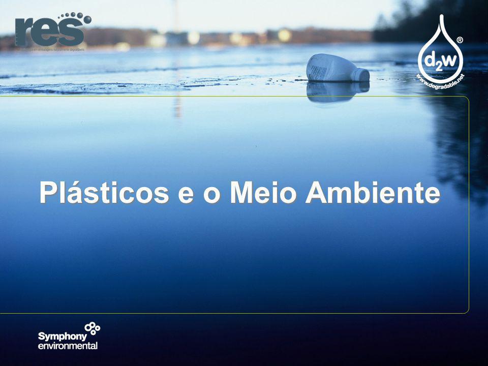 Plásticos e o Meio Ambiente