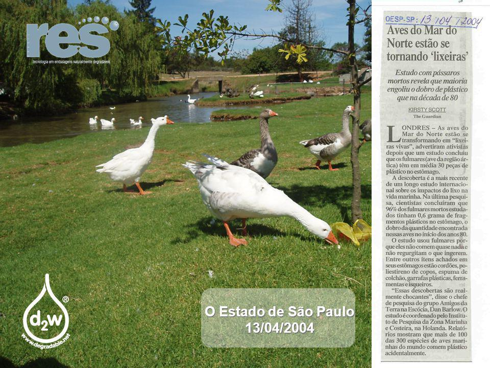 O Estado de São Paulo 13/04/2004