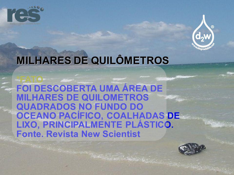MILHARES DE QUILÔMETROS