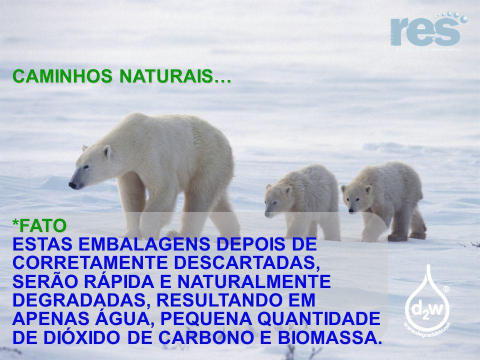 CAMINHOS NATURAIS… *FATO.