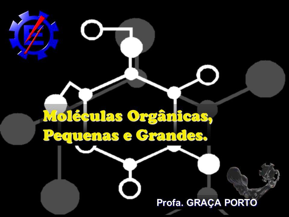 Moléculas Orgânicas, Pequenas e Grandes.