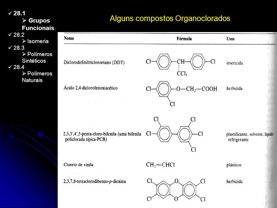 Alguns compostos Organoclorados