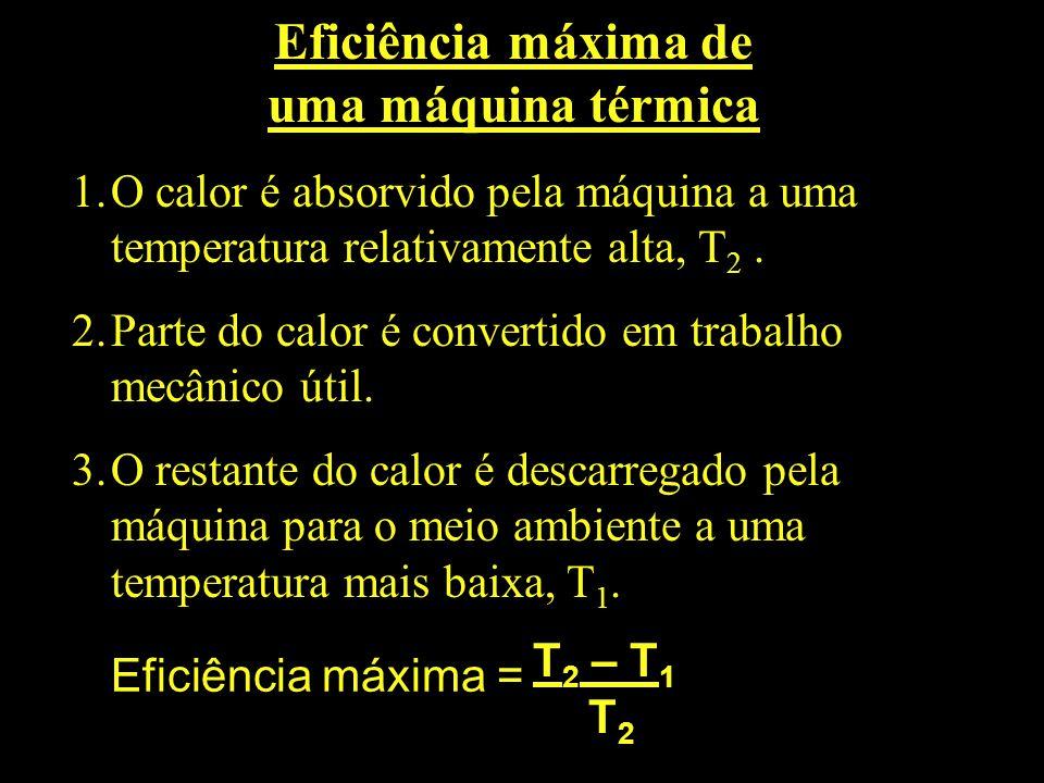 Eficiência máxima de uma máquina térmica