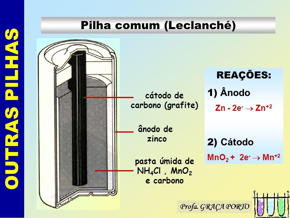 Pilha comum (Leclanché)