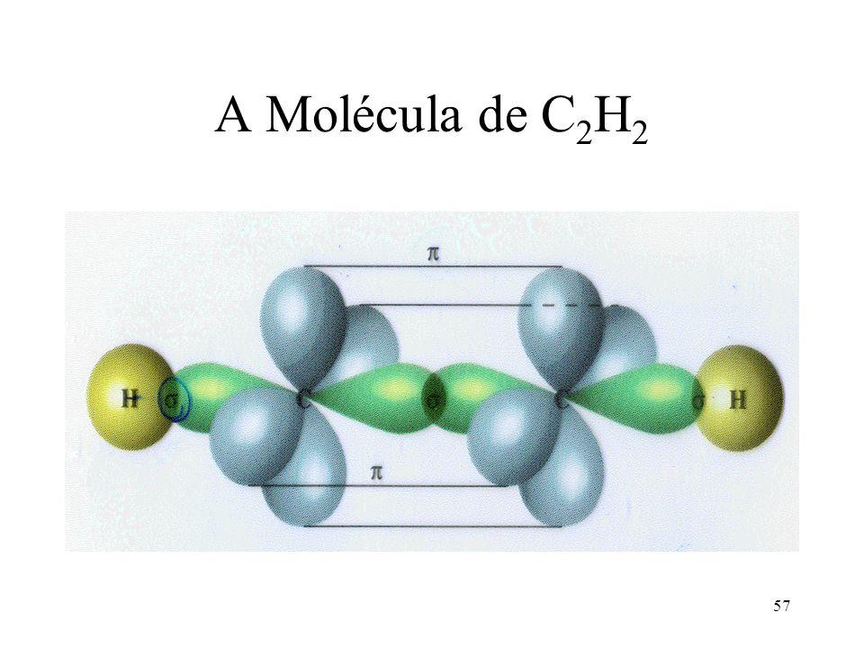 A Molécula de C2H2
