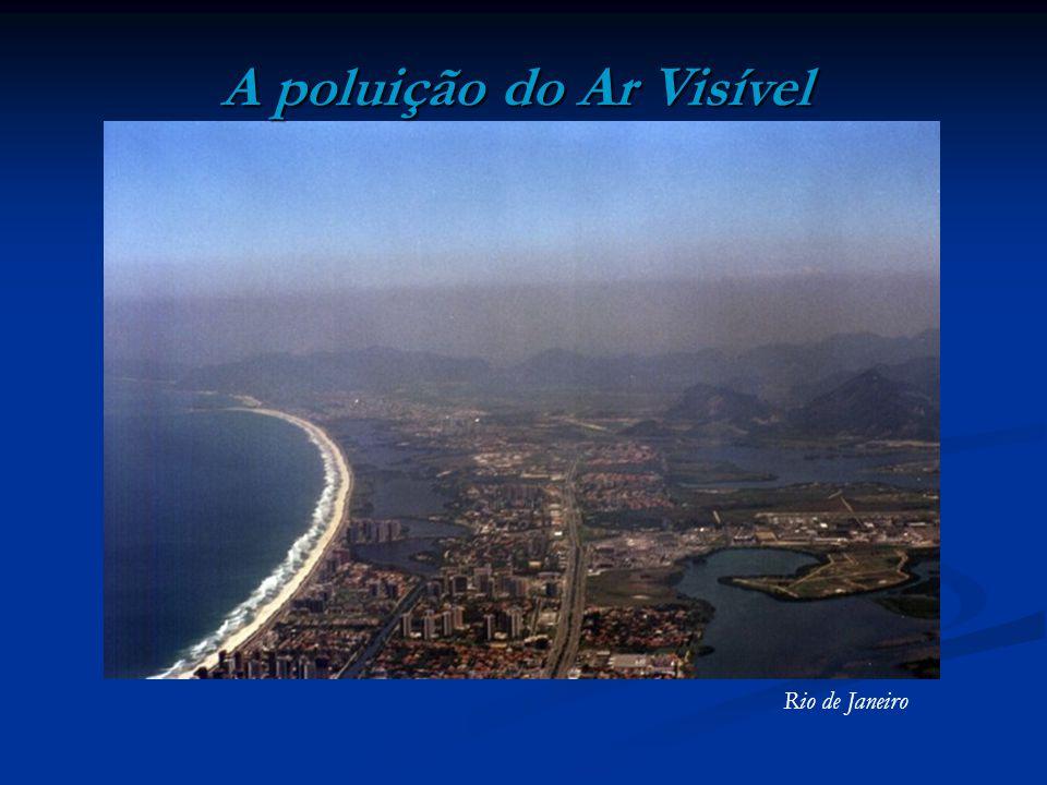 A poluição do Ar Visível